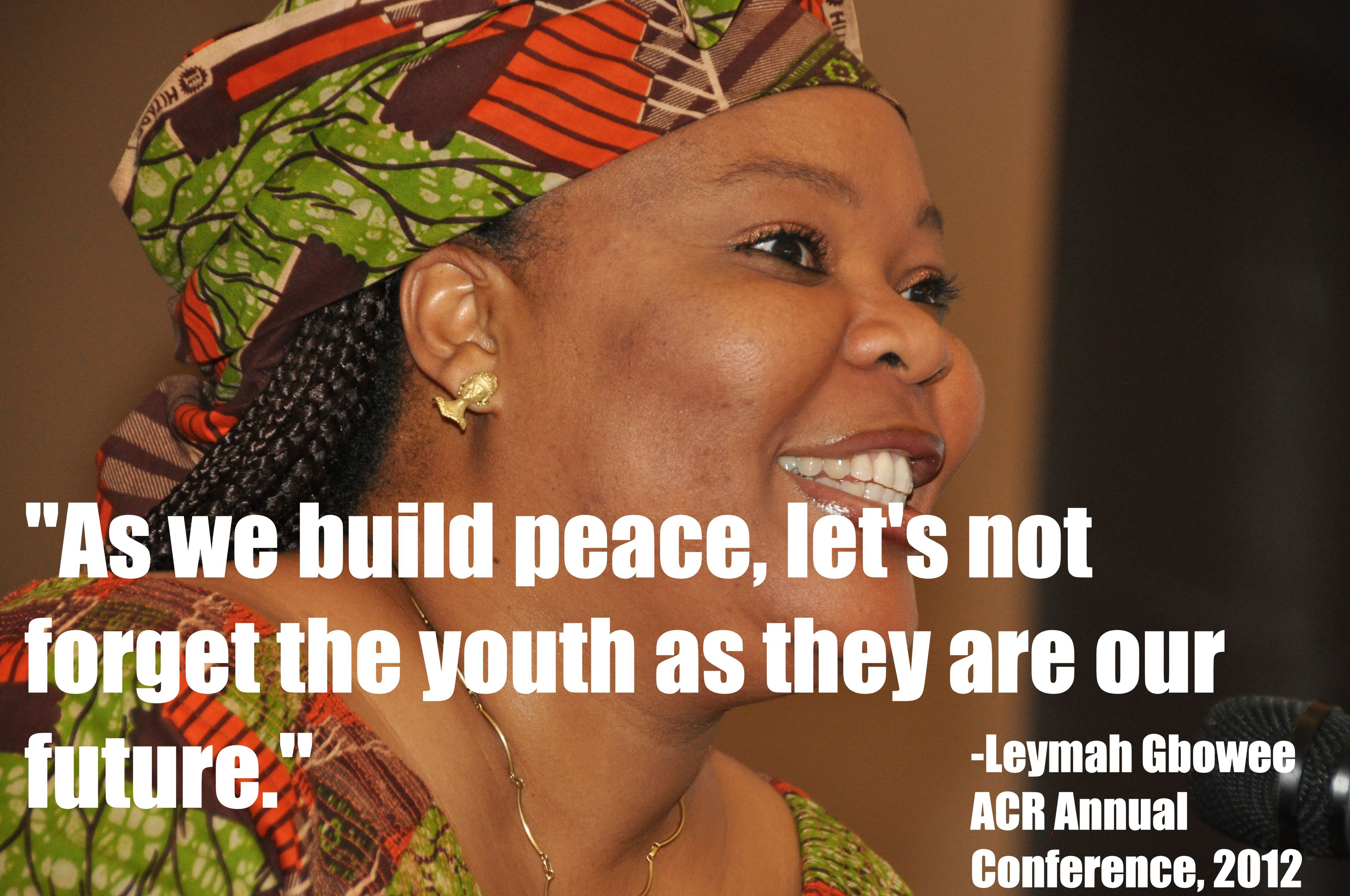 As We Build Peace Lets Not Forget The Youth As They Are Our