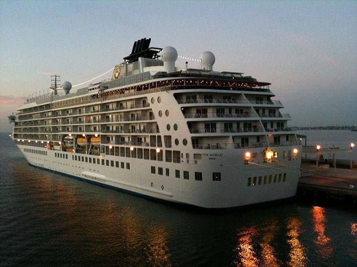A Cruise Ship Named The World Where Residents Permanently Live - Azura cruise ship wiki
