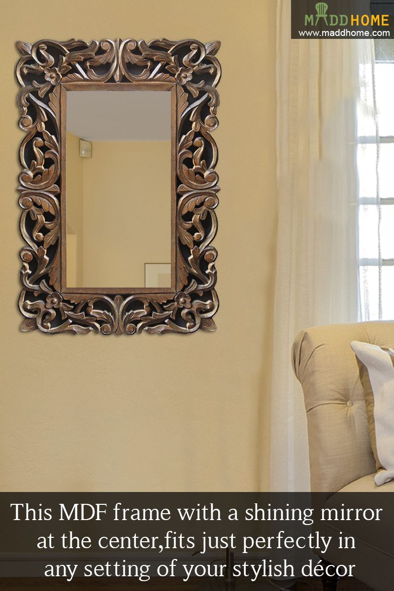 Add Class In Your Decor. #MaddHome #HomeDecor #DecorativeMirror Shop ...