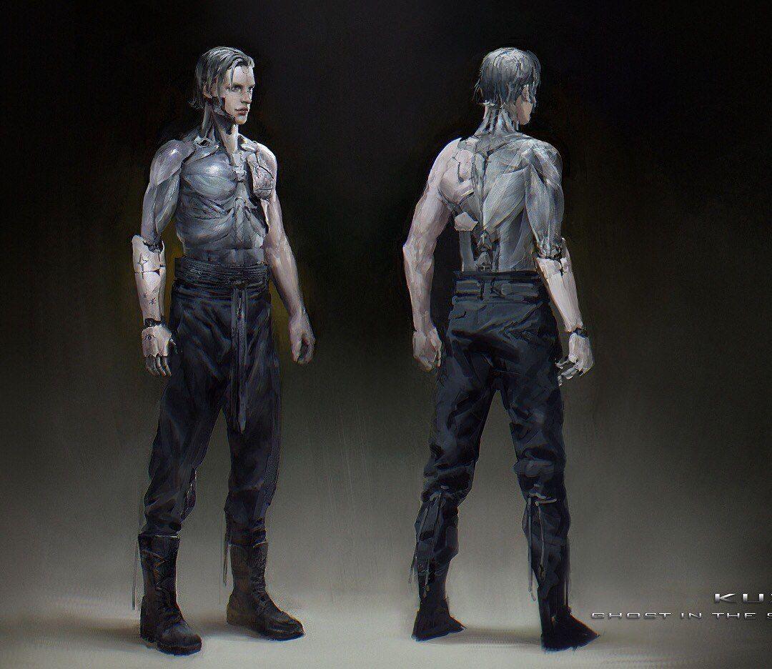 #Hideo_Kuze #Ghost_in_the_Shell_2017 #cyberpunk #art