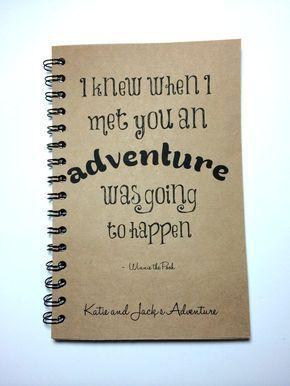 Adventure Notebook, Winnie the Pooh Quote, Adventure Book ...