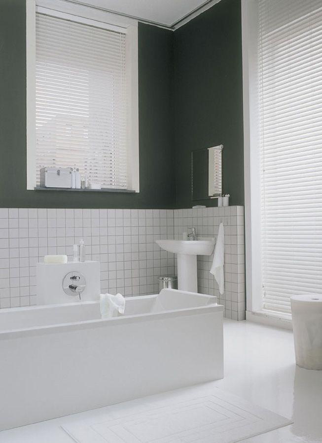 Houten jaloezie in badkamer | Raamdecoratie | Pinterest - Jaloezie ...