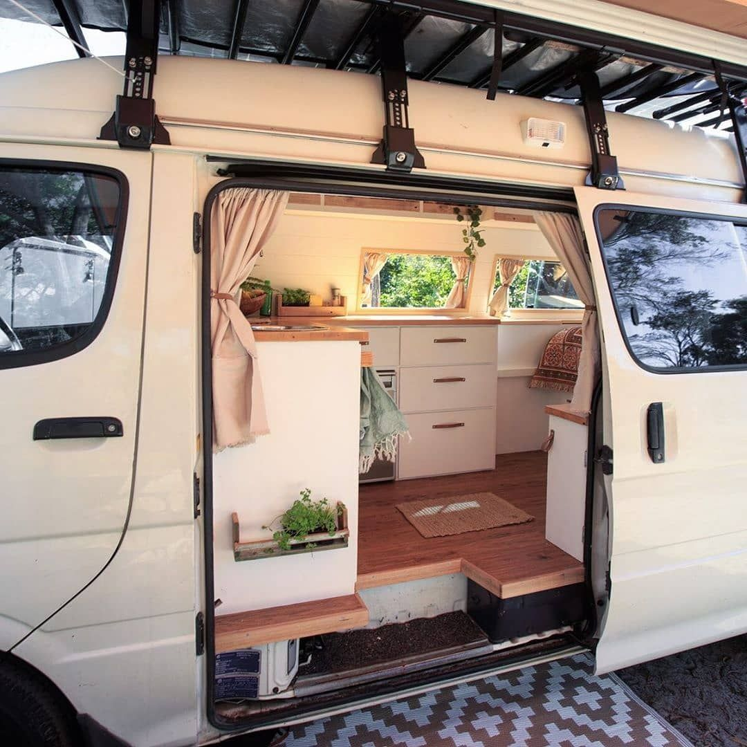 """Photo of Living Van Life on Instagram: """"📸 from @curlycally Follow if you want to get inspired Living Van Life ❤️ Use #livingvanlife to get featured 🚌"""""""