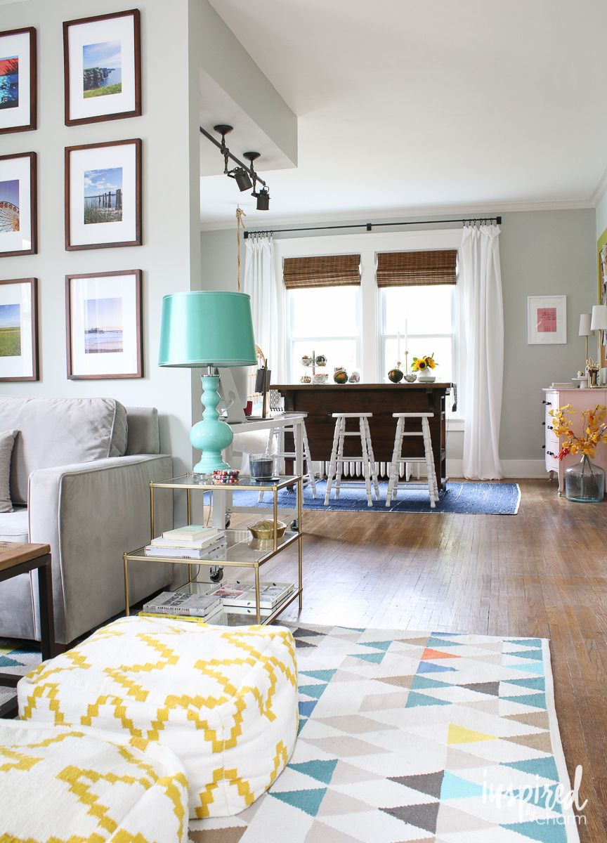 Fall Home Tour 2015 | Living rooms, Room and Interiors