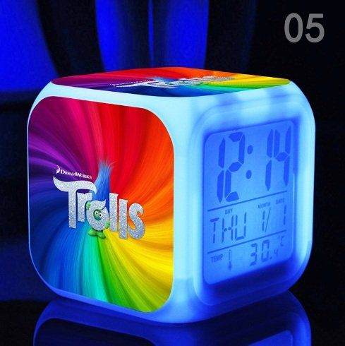 bedroom alarm clock. Dreamy Trolls Decorating Ideas For Bedrooms  and Bed sets