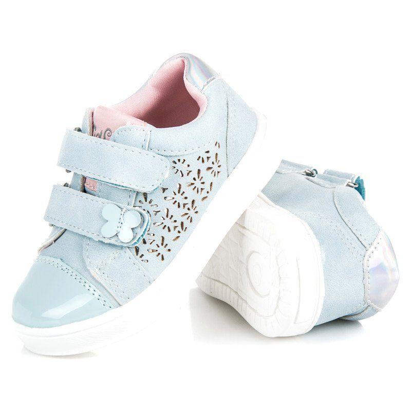 Buty Sportowe Dzieciece Dla Dzieci Americanclub Niebieskie Buciki Ze Wzorem American Club Winter Shoes Shoes Baby Shoes