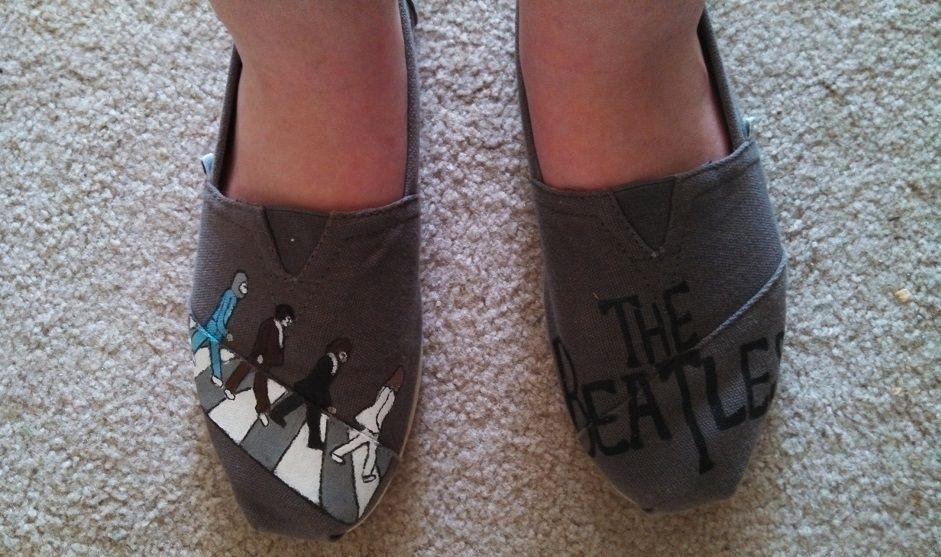 wash toms, Clean toms shoes