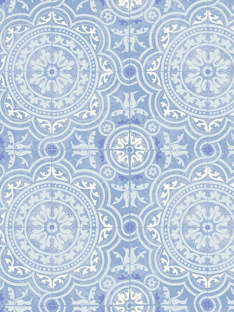 New year, new walls: Best blue wallpaper designs  Pattern
