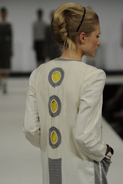 jacket--love this --cut outs backed with another color