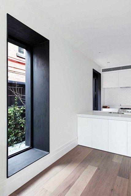 Creating Depth House Interior Modern Windows Black Window Frames