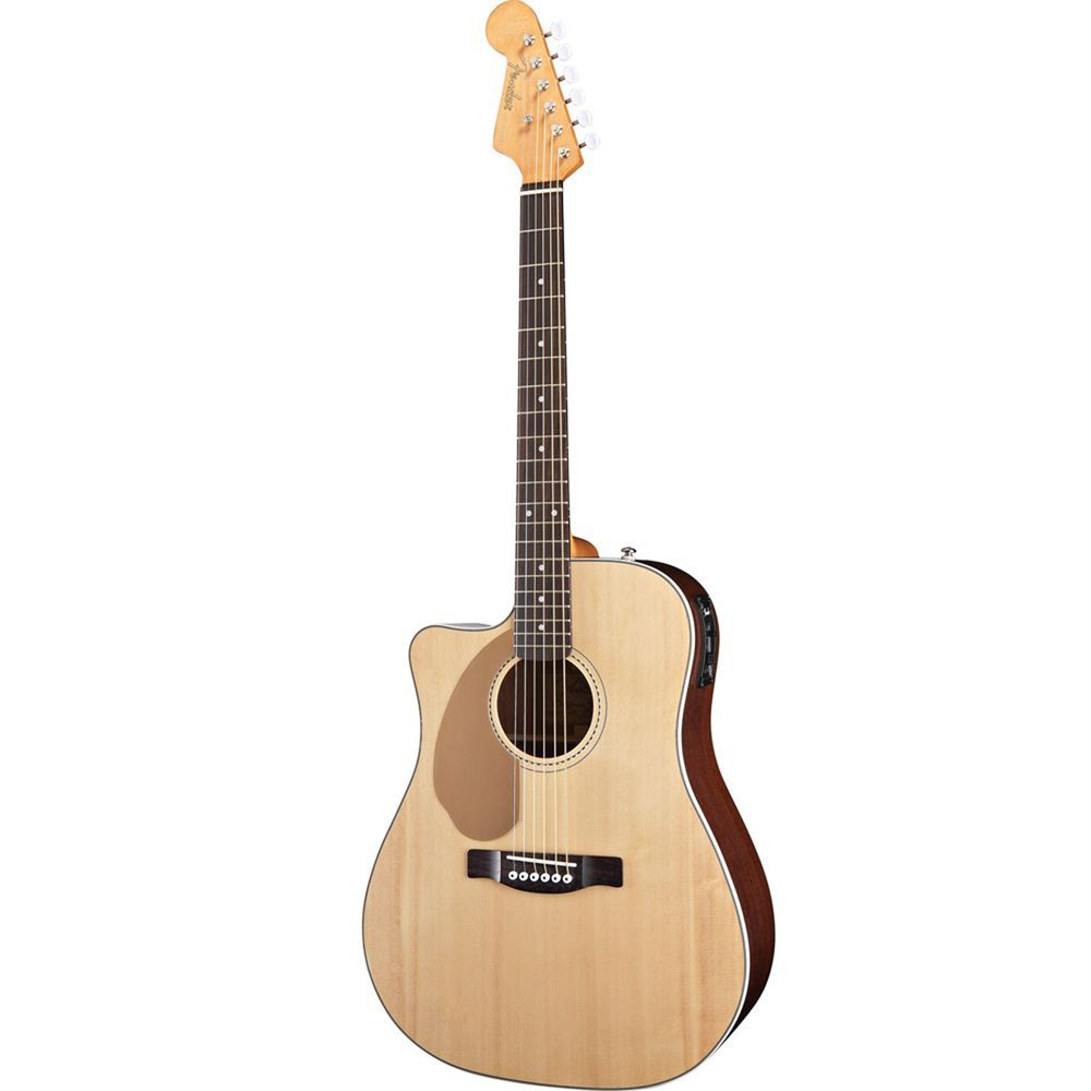 Buy Fender Sonoran SCE Left Handed Acoustic Electric Guitar Natural at ZoZoMusic.com