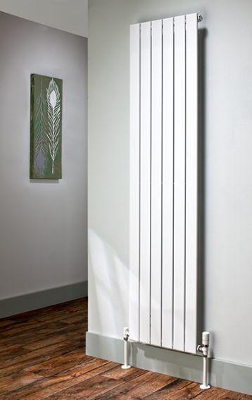The Radiator Company Picchio Double Vertical Designer Radiator In White Cast Iron Radiators Vertical Radiators Radiators Living Room Vertical Radiators Kitchen