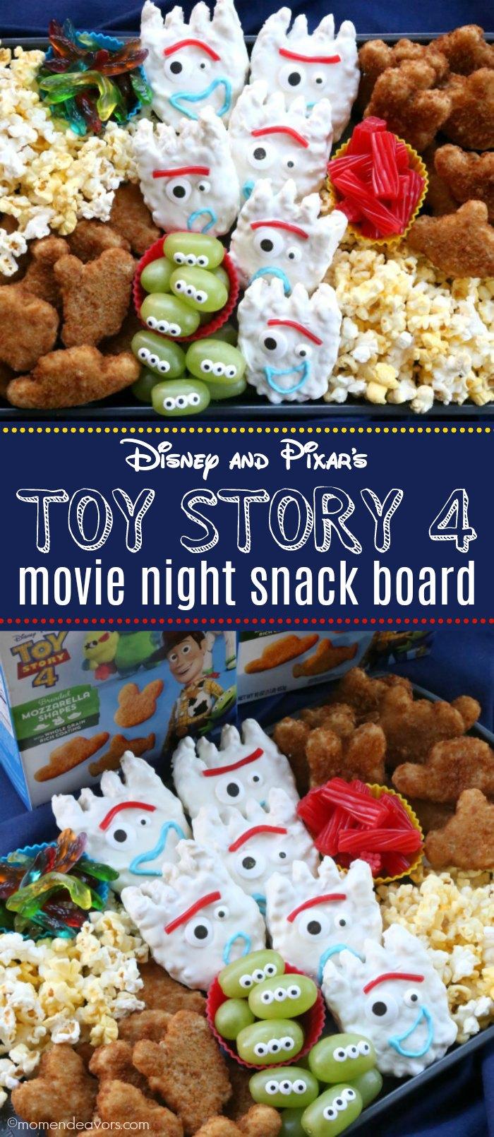 Disney and Pixar's Toy Story 4 Movie Night Snack Board #movienightsnacks Disney and Pixar's Toy Story 4 Movie Night Snack Board #movienightsnacks