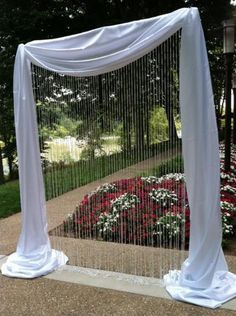 Decorated square wedding arch google search wedding ideas decorated square wedding arch google search junglespirit Choice Image