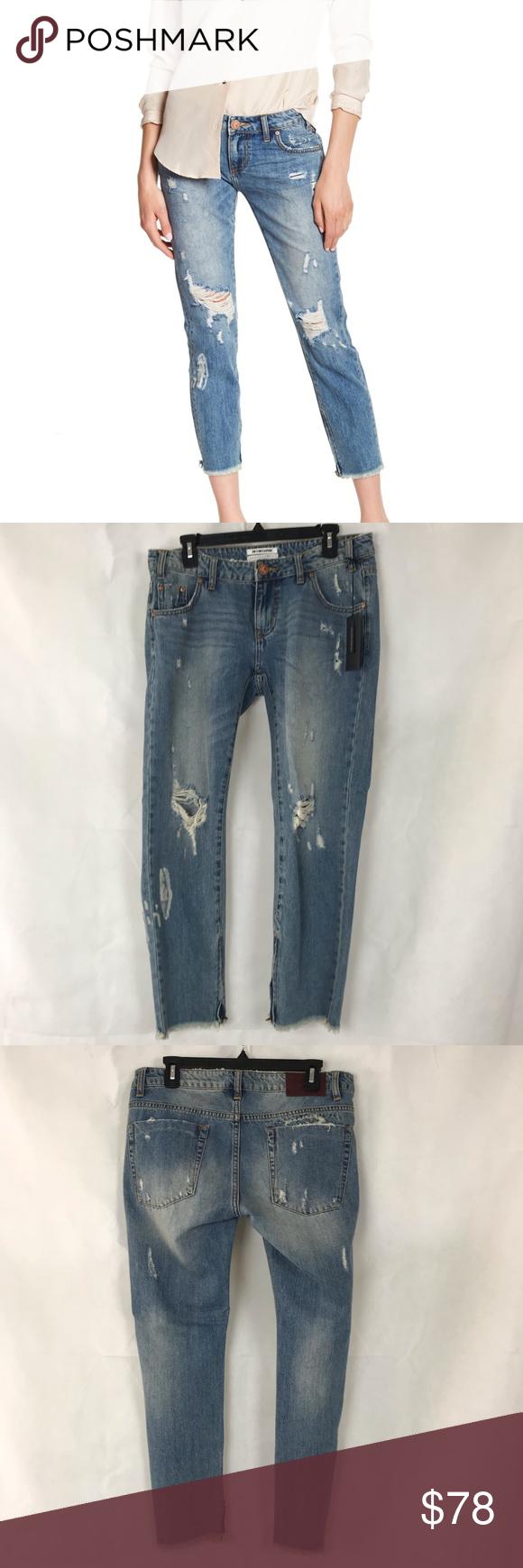 One Teaspoon Freebirds Blue Buoy Jeans Size 29 Clothes Design Jeans Size Fashion Design