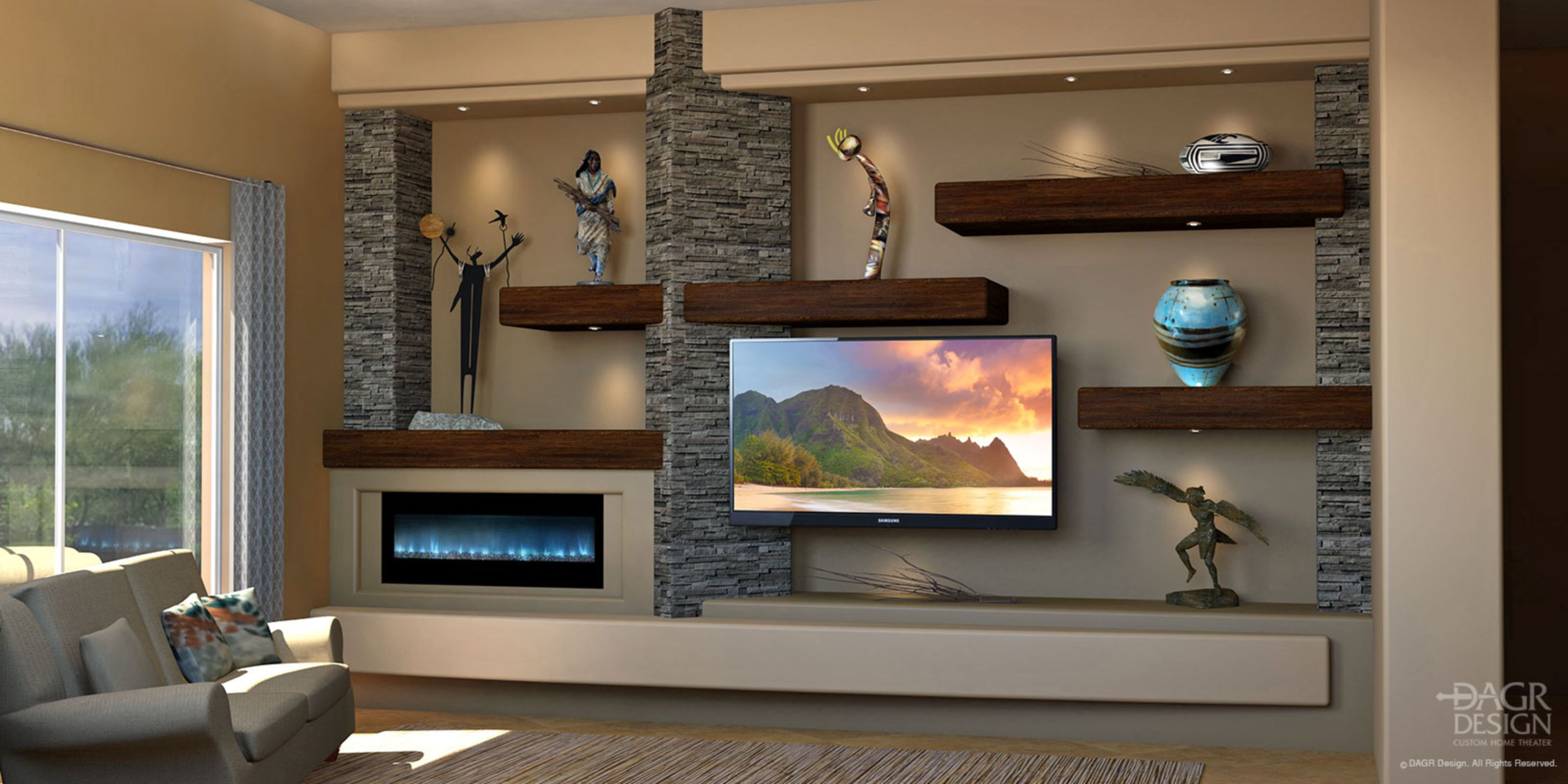Custom Home Entertainment Centers Media Walls Media Wall In 2018
