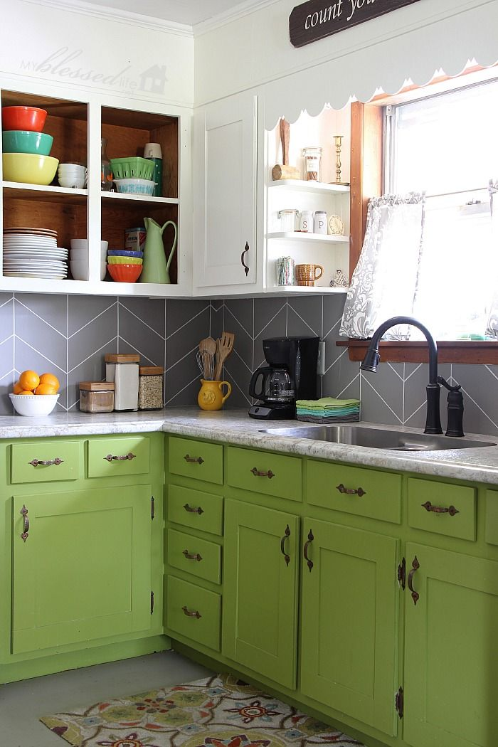 If you're looking for ideas on a new backsplash for your kitchen counter  area