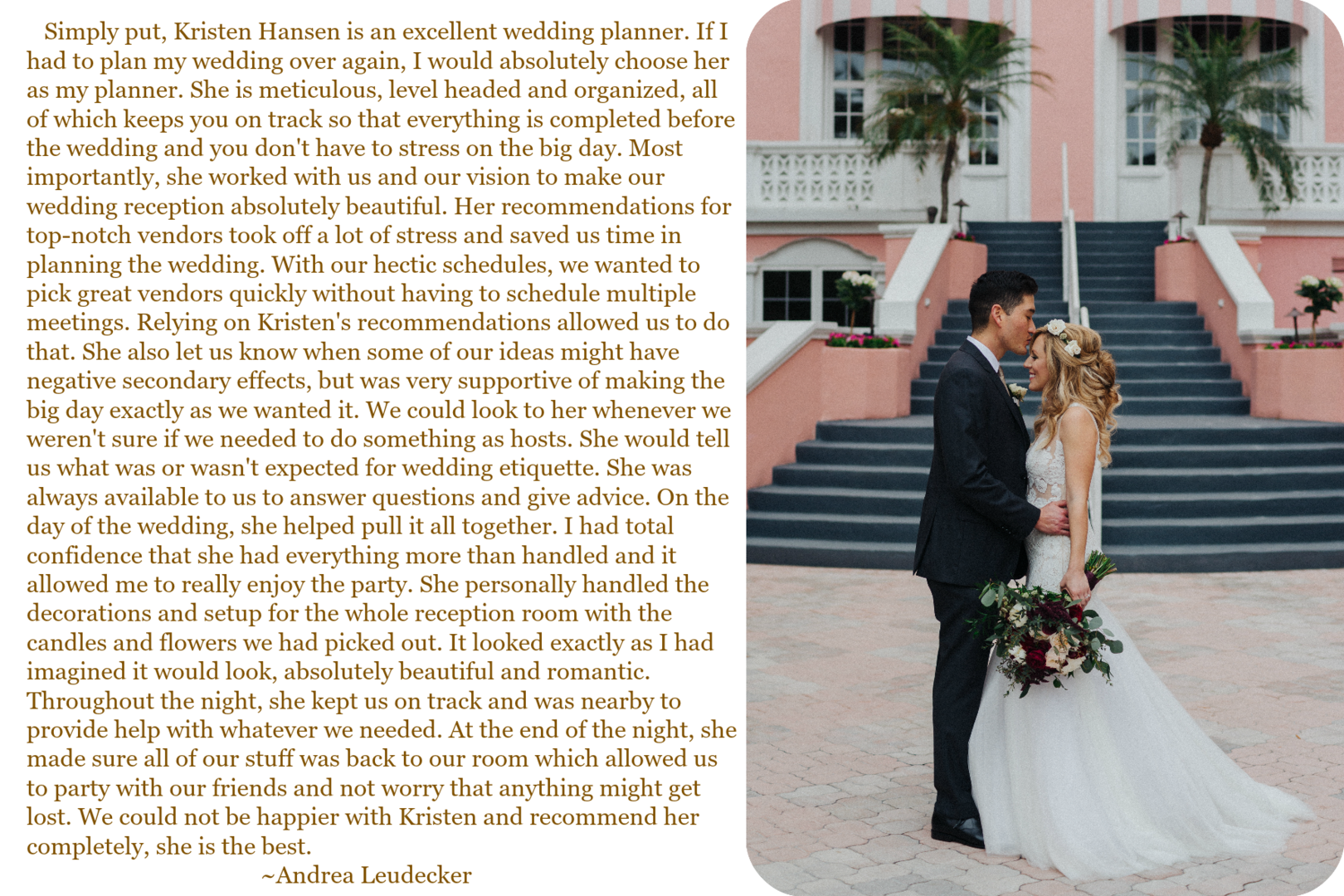 Flawless Fetes Review Don Cesar St Pete Wedding Grind