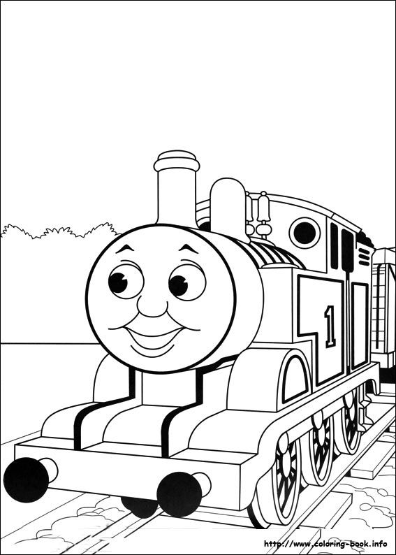 Thomas and Friends coloring picture Patterns \ Templates - copy coloring pages printable trains