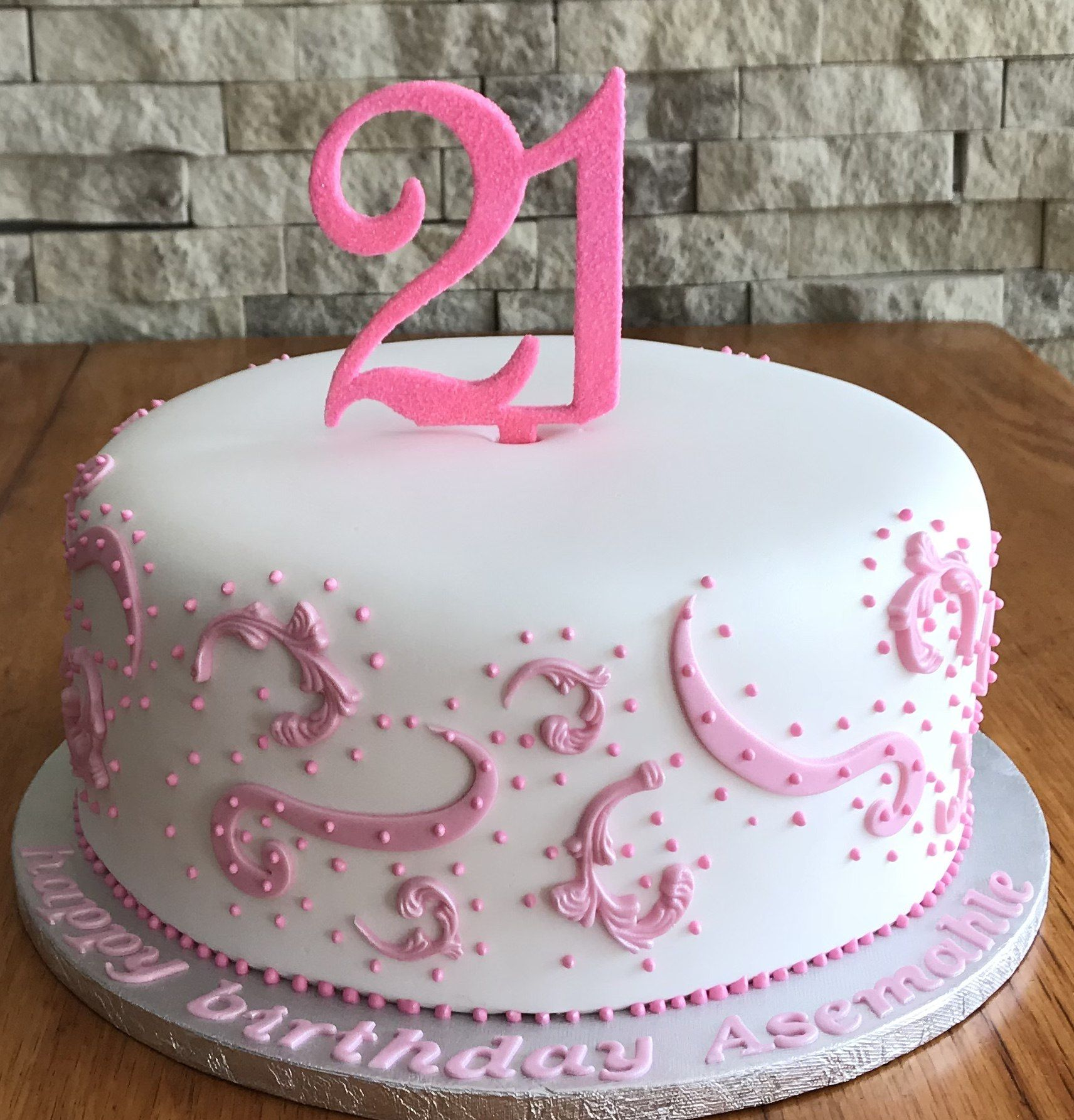 25 Amazing Picture Of 21st Birthday Cake Ideas For Her With