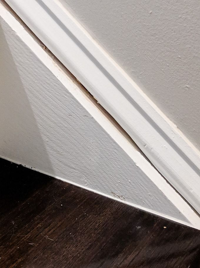 Best How To Caulk Hardwood Stairs Repair Cracked Stair Stringers And Trim Stairs Stringer Stairs 640 x 480