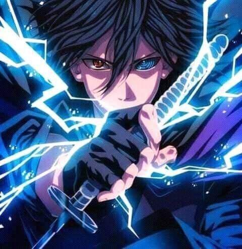 sasuke chidori blade | Rysunki, Ilustracje, Anime