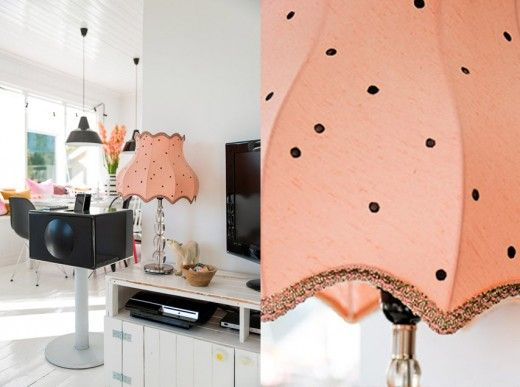 Diy tutorial - vintage lamp shade
