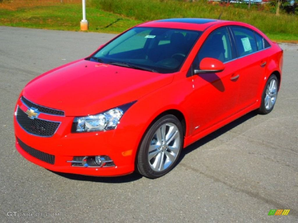 Victory Red Chevy Cruze You Can Keep Your Candy Apple And