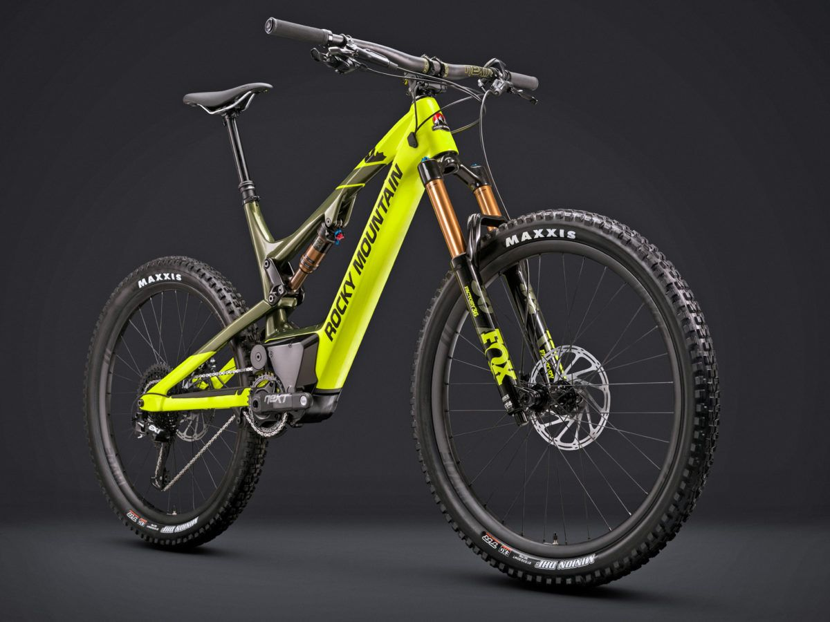 Just A Few Weeks Back Rocky Mountain Introduced A Ebike Electricbike Bicycle Exercise Http Www Ebike Freeride Bikes Downhill Bike Mountain Bike Clothing