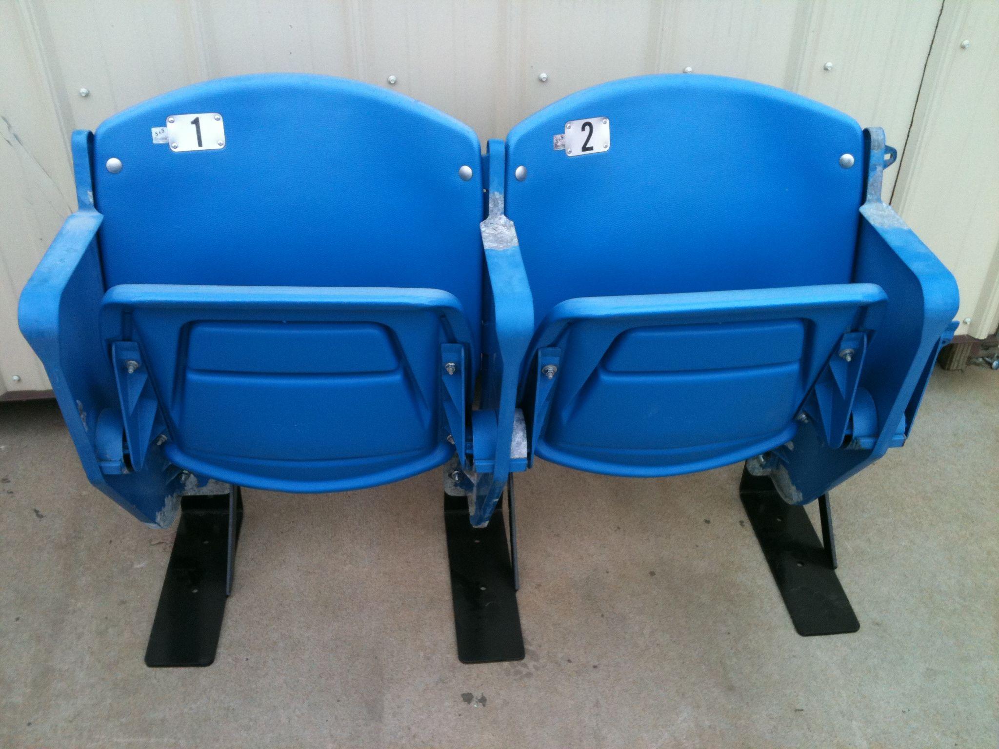 Rosenblatt Stadium seats memorabilia