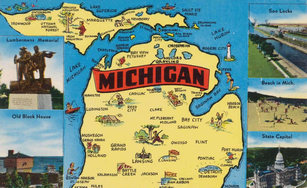 Michigan The Water Wonderland Mishawaka indiana Lake huron and