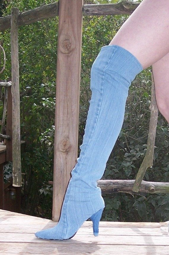 f509592068c FOR REAL?! This is a sewing pattern for Make Your Own Denim Thigh ...