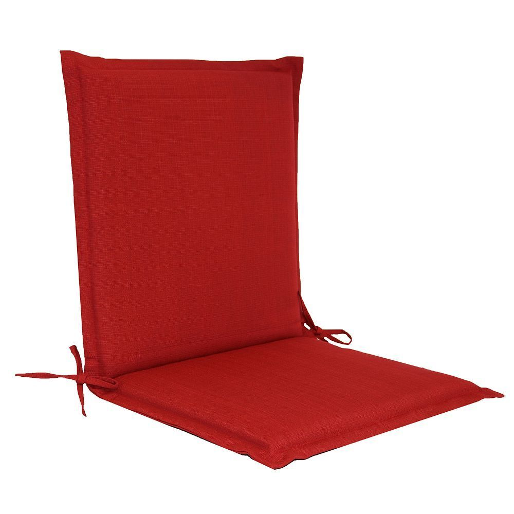 Sonoma Goods For Lifeâ Indoor Outdoor Reversible Sling Chair Cushion Red