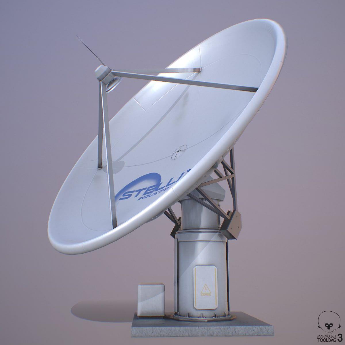 Satellite Dish Model Satellite Dish Architecture Drawing Art Satellites
