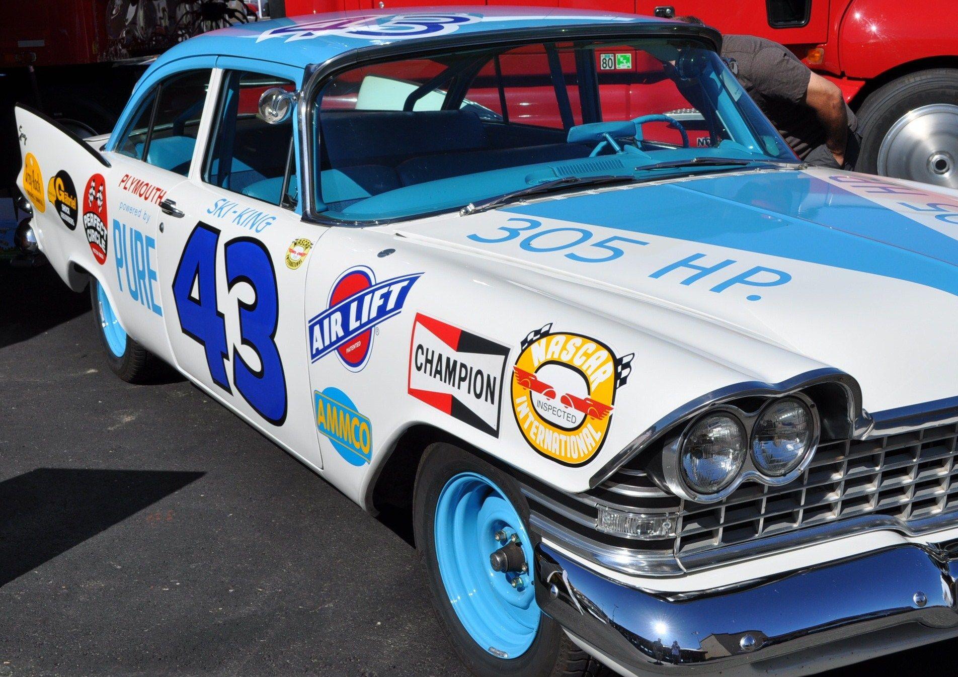 1959 plymouth sport fury interior related keywords - Richard Petty S 1959 Plymouth Savoy Http Www Pinterest Com