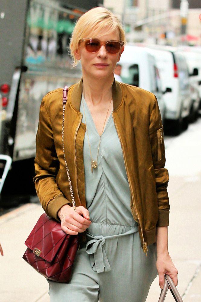 e9816a515da4 Cate Blanchett Roger Vivier Prismick Shoulder Bag Givenchy Lucrezia Satchel  1
