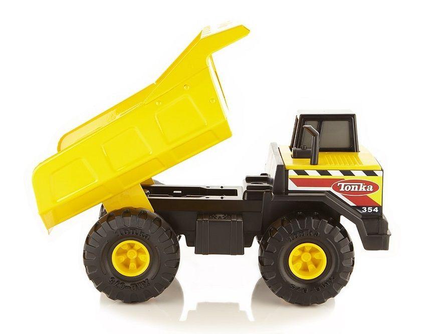 Tonka Construction Toys For Boys : Tonka steel dump trucks and construction toys are built for a