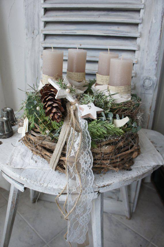 advent wreath magic forest kr nze. Black Bedroom Furniture Sets. Home Design Ideas
