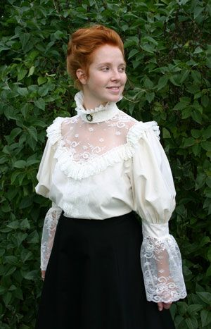 Recollections Victorian Blouse Fashion Victorian Blouse Blouse