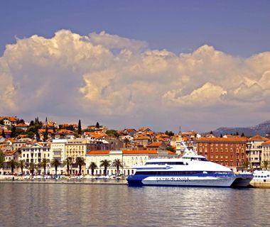 Croatia ferry: Dalmatian Coast between Split and Vis