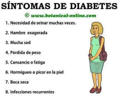 síntomas de diabetes sindesmosebandriss