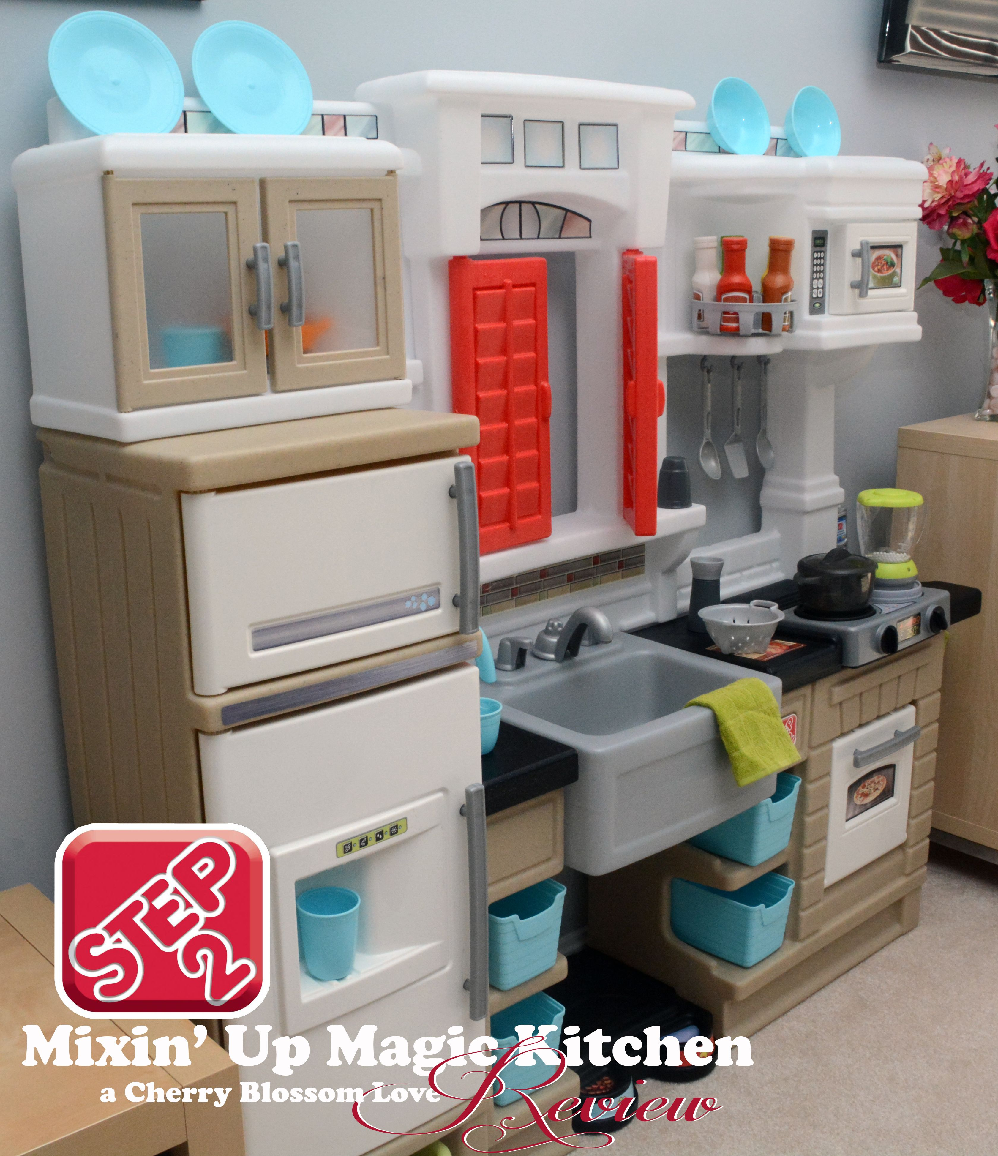 step2 mixin up magic kitchen review cherry blossom love reviews