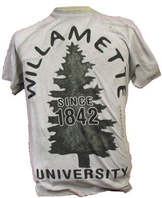 "Willamette ""Star Tree"" T-shirt, $12.95"