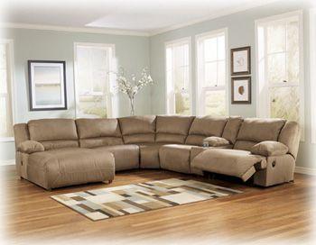1 657 Ashley Furniture 1 800 Samsfurniture Com 1 560 King Laf Pressback Sectional Sofa With Recliner Reclining Sectional With Chaise Sectional Chaise