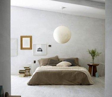 Peinture chambre zen couleur gris déco taupe | plutôt ...
