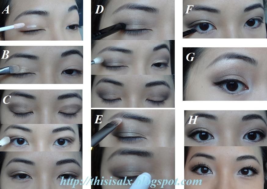 Simple Soft Neutral Smokey Eye For Hooded/Asian Eyes | ThisIsAlx