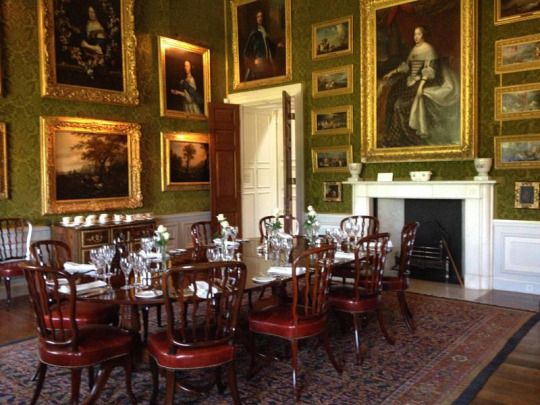 Small Dining Room At Althorp