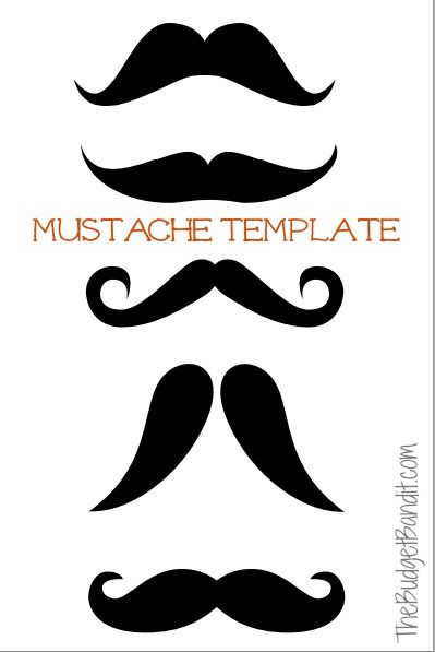picture regarding Printable Mustache Templates identified as Printable Mustache Pumpkin Carving Template - Residing Stylish