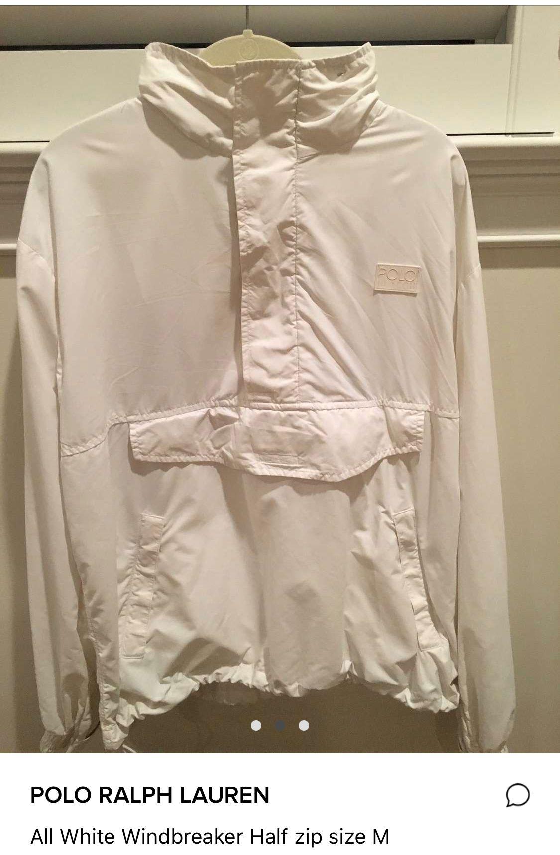 Polo Hi Tech Coke White pullover Polo ralph lauren
