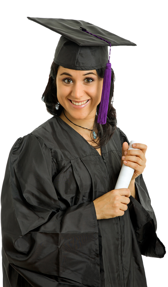 Female Student Png Image Diploma Courses Student Diploma
